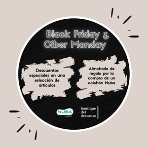 Black Friday & Ciber Monday Nuba